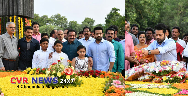 harikrishna family tribute to ntr